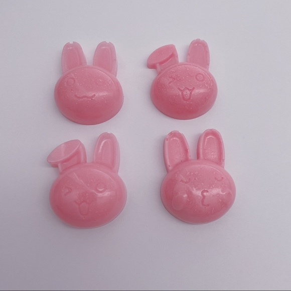 Seconds Handmade Pink Bunny Resin Charms